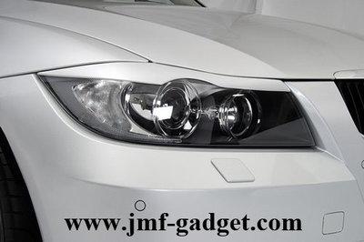 BMW E90 E91 Eyebrows Booskijers Gespoten
