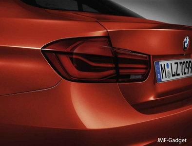 BMW Originele F30 F80 Sedan LCI Full LED Blackline achterlichten