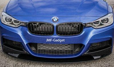 BMW F30 F31 M-Tech Piano Zwart Performance Voorlip Spoiler