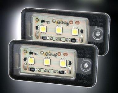 AUDI A3 A4 A6 A8 SMD LED Kenteken Verlichtingen Unit