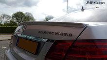 Mercedes E-Klass W212 AMG Styling Koffer Spoiler Gespoten
